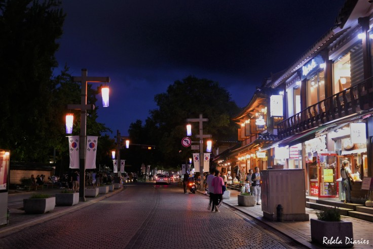 Jeonju at night 1