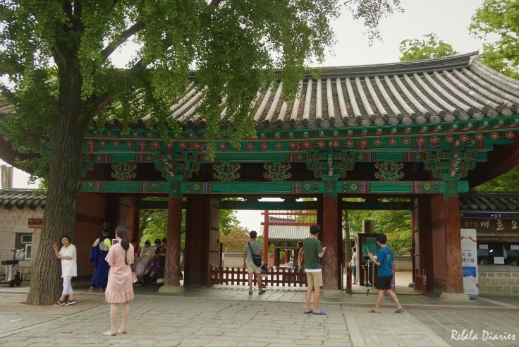 Jeonju Hanok Village entrance
