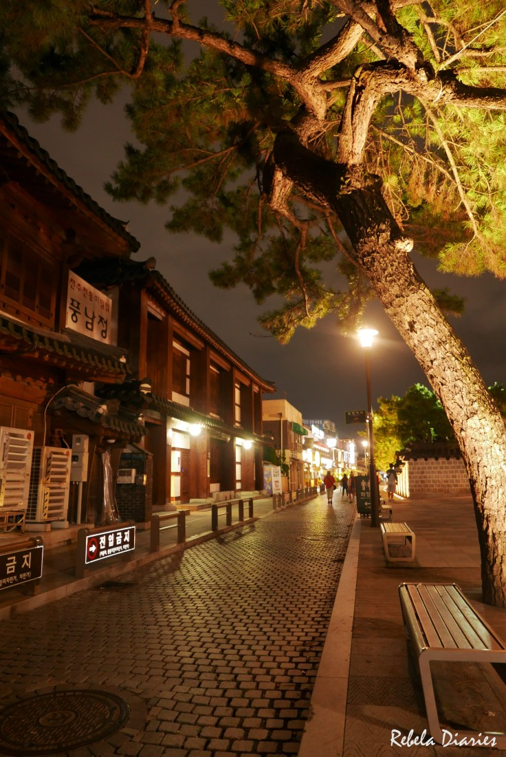 Jeonju street at night 1