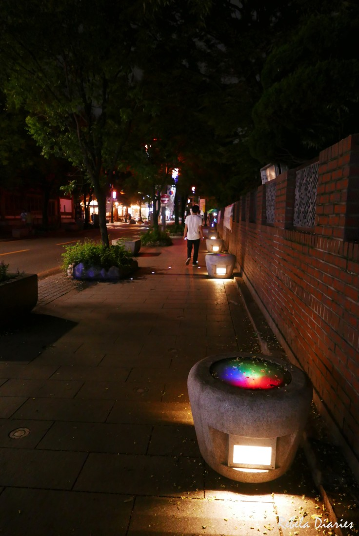 Jeonju street at night 2