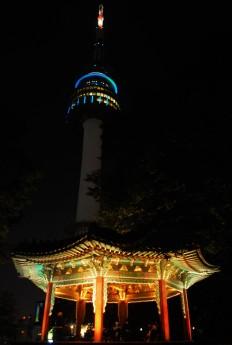 Namsan Peak pagoda