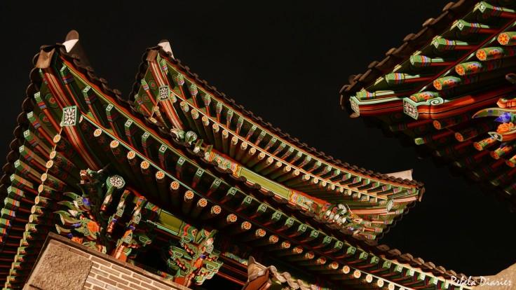 Pungnammun gate details 2