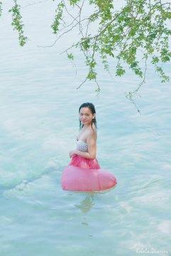Swimming in Magalawa