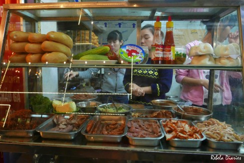 What to eat in Hanoi: Banh Mi