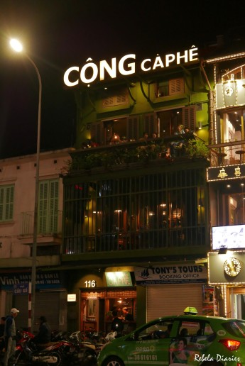 Where to drink coffee in Hanoi: Cong Caphe