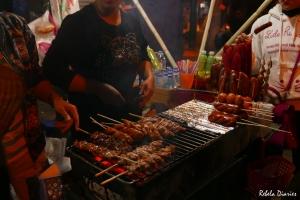 Street food at Hanoi night market