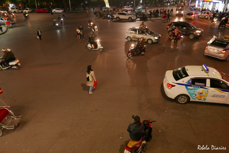Traffic in Hanoi