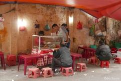 food stalls in Vietnam