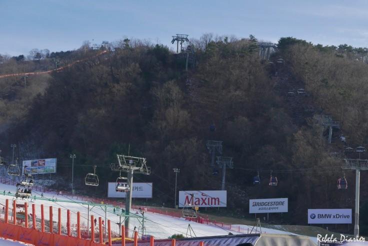 Ski lifts Vivaldi
