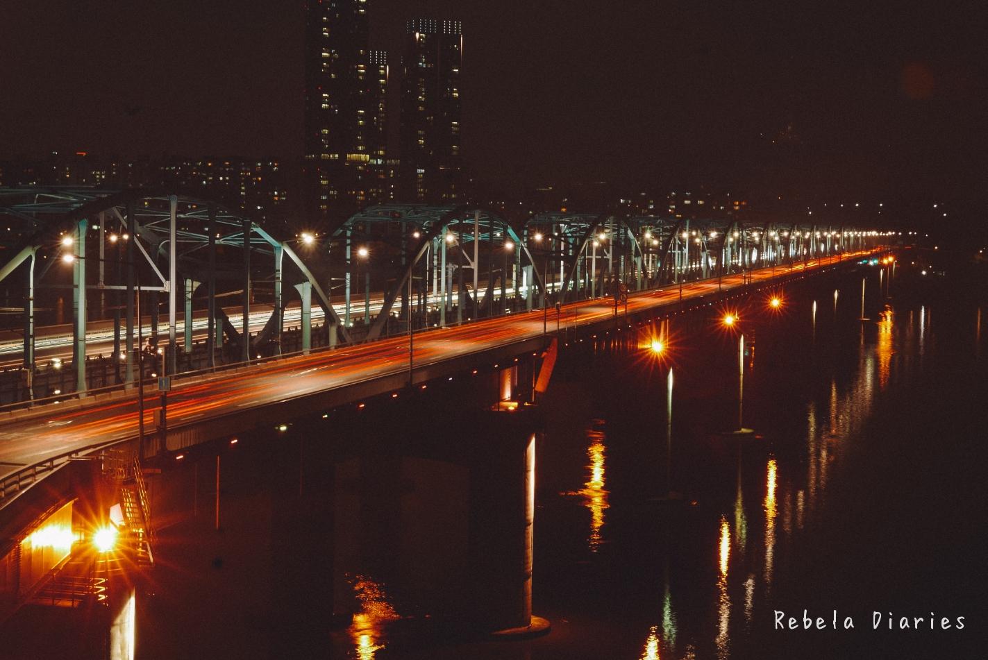 Rebela Diaries: Her Private Life Filming Location Dongjak Bridge
